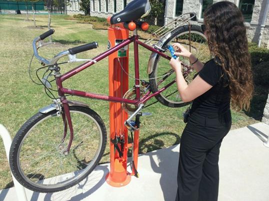 5 Bike Repair Stations Across Ut Dallas Campus Bike